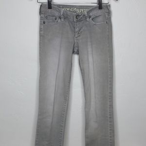 Tillys Bullhead Light Gray Jeans (3S)